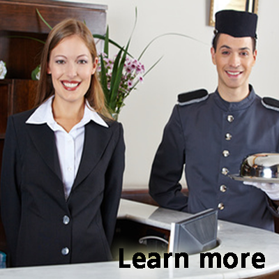 travel and hospitality web