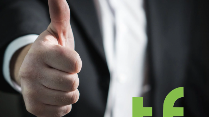 A Thumbs Up To Show That You TeleForwarding Is Here To Help You Through This Difficult Time.